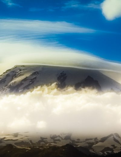 Head Up In The Clouds, Mt. Rainer